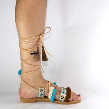 "Handmade Sandals ""Molyvos"""
