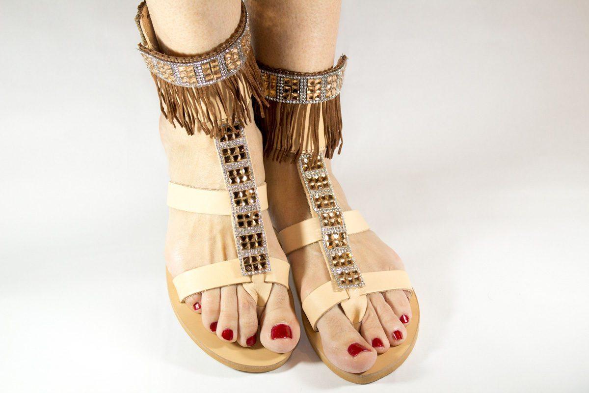 "Handmade Sandals ""Peitho"""
