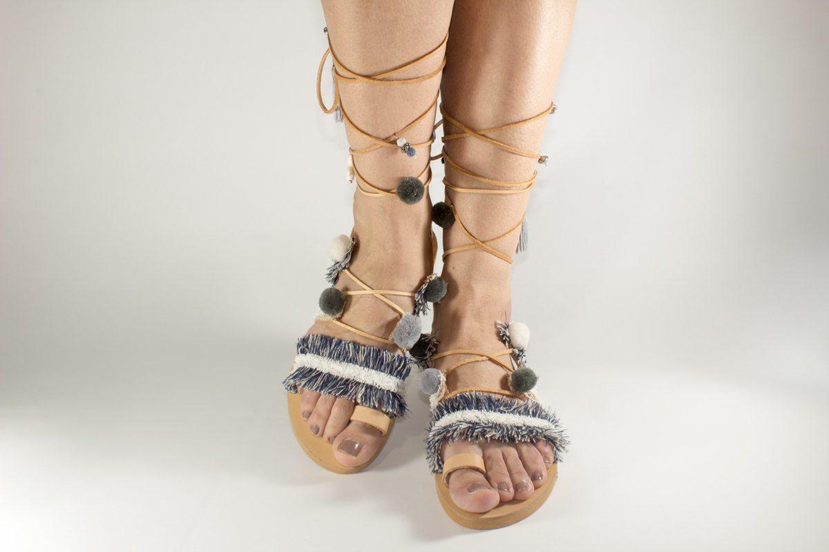 "Handmade Sandals ""Persephone"""