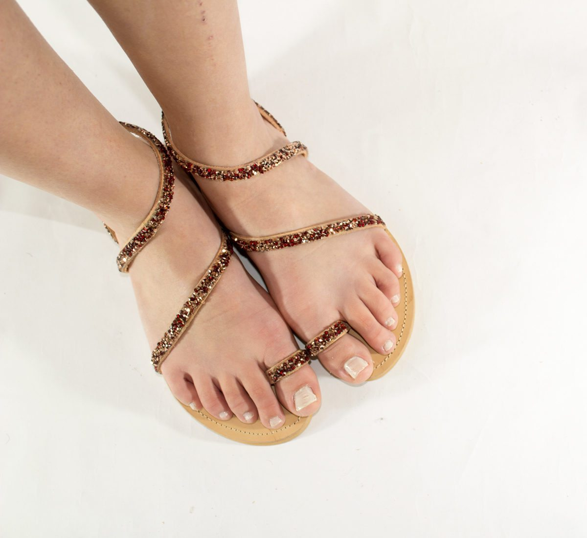 "Handmade Sandals ""Cyclades"""