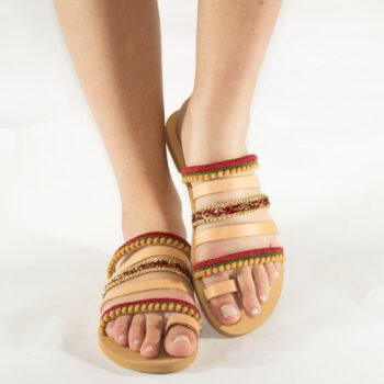 "Handmade Sandals ""Paros"""
