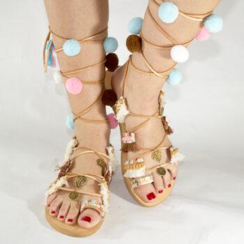 "Handmade Sandals ""Penelope"""