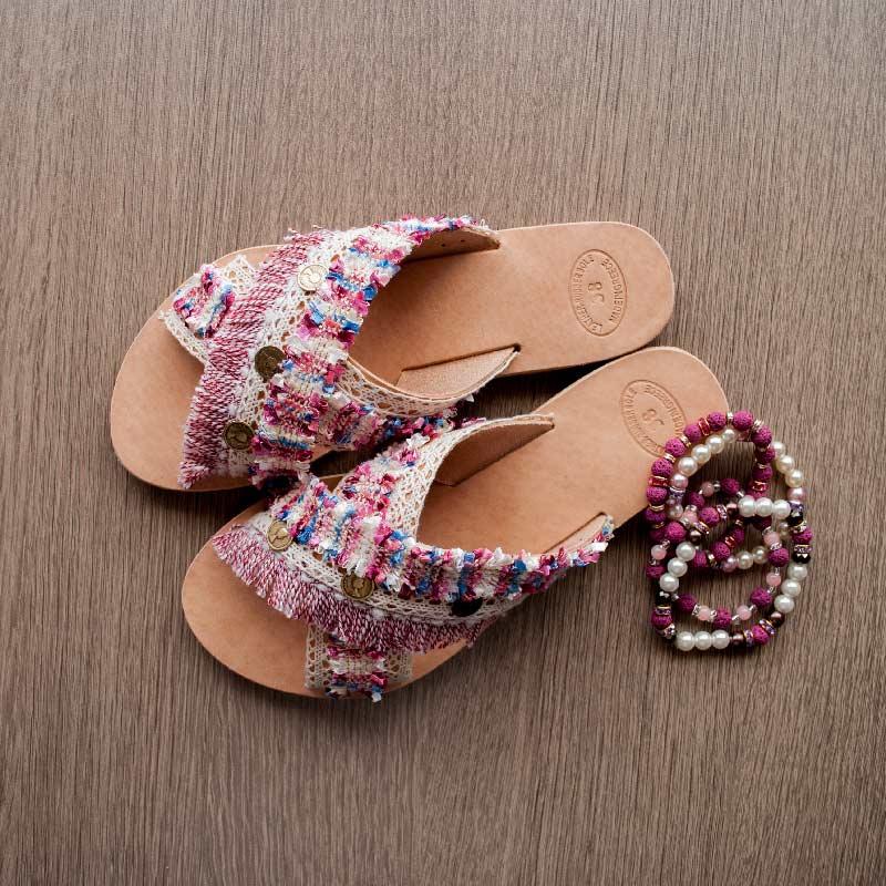 "Handmade Sandals , Boho Sandals , Leather , ""Hermione"""