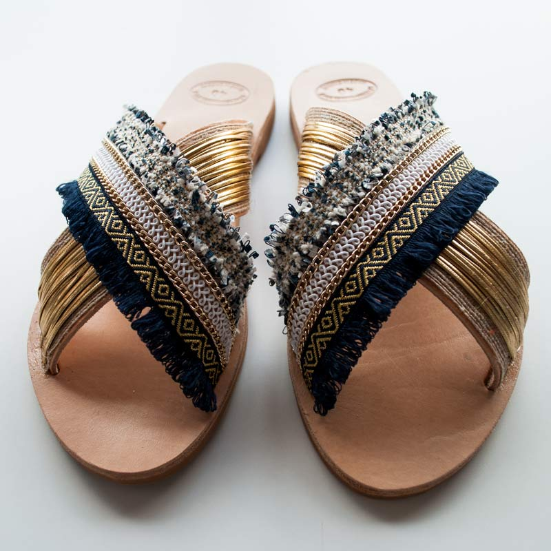 "Handcrafted sandals,leather sandals, ""Areti"""