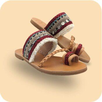 Σανδάλι-Γυναικείο-Αύρα-μαζι-Sandals