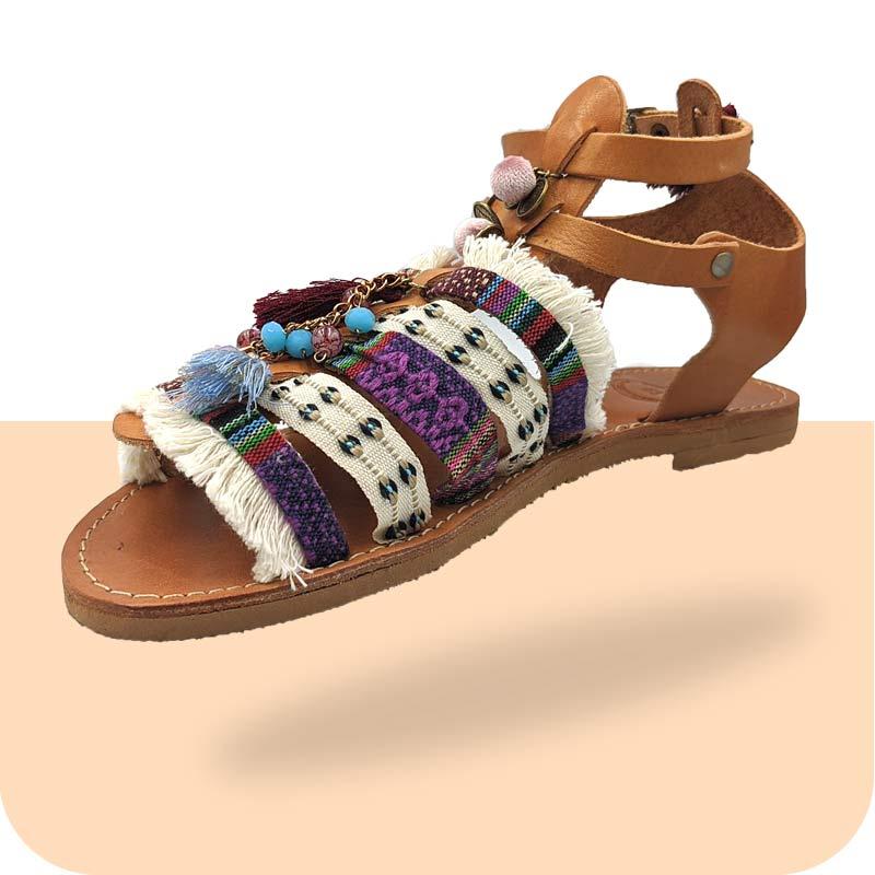 Σανδάλι-Γυναικείο-Aphelia-κεντρική-Sandals Dias Handmade