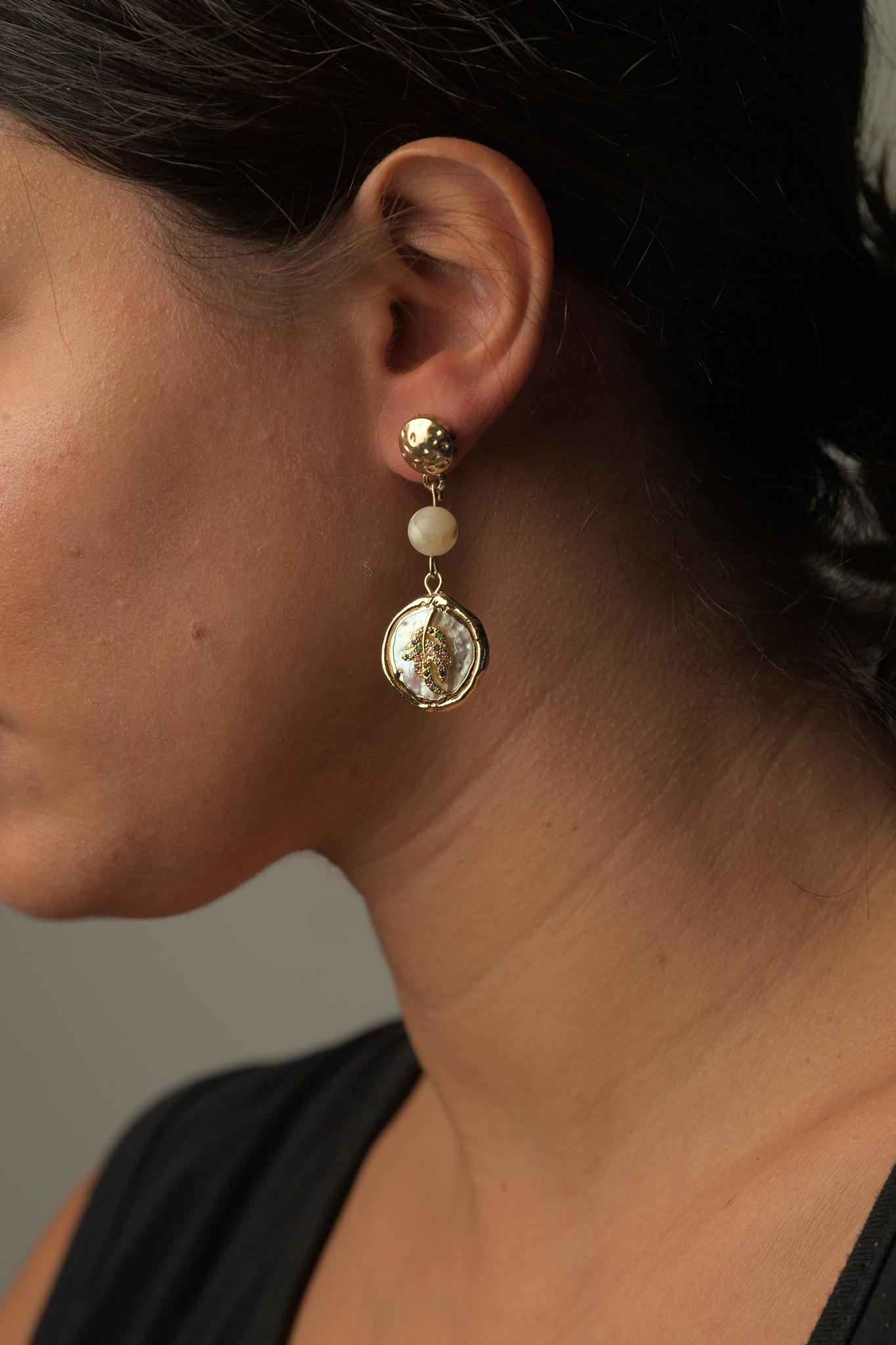 Γυναικεία Σκουλαρίκια Μαργαριτάρια