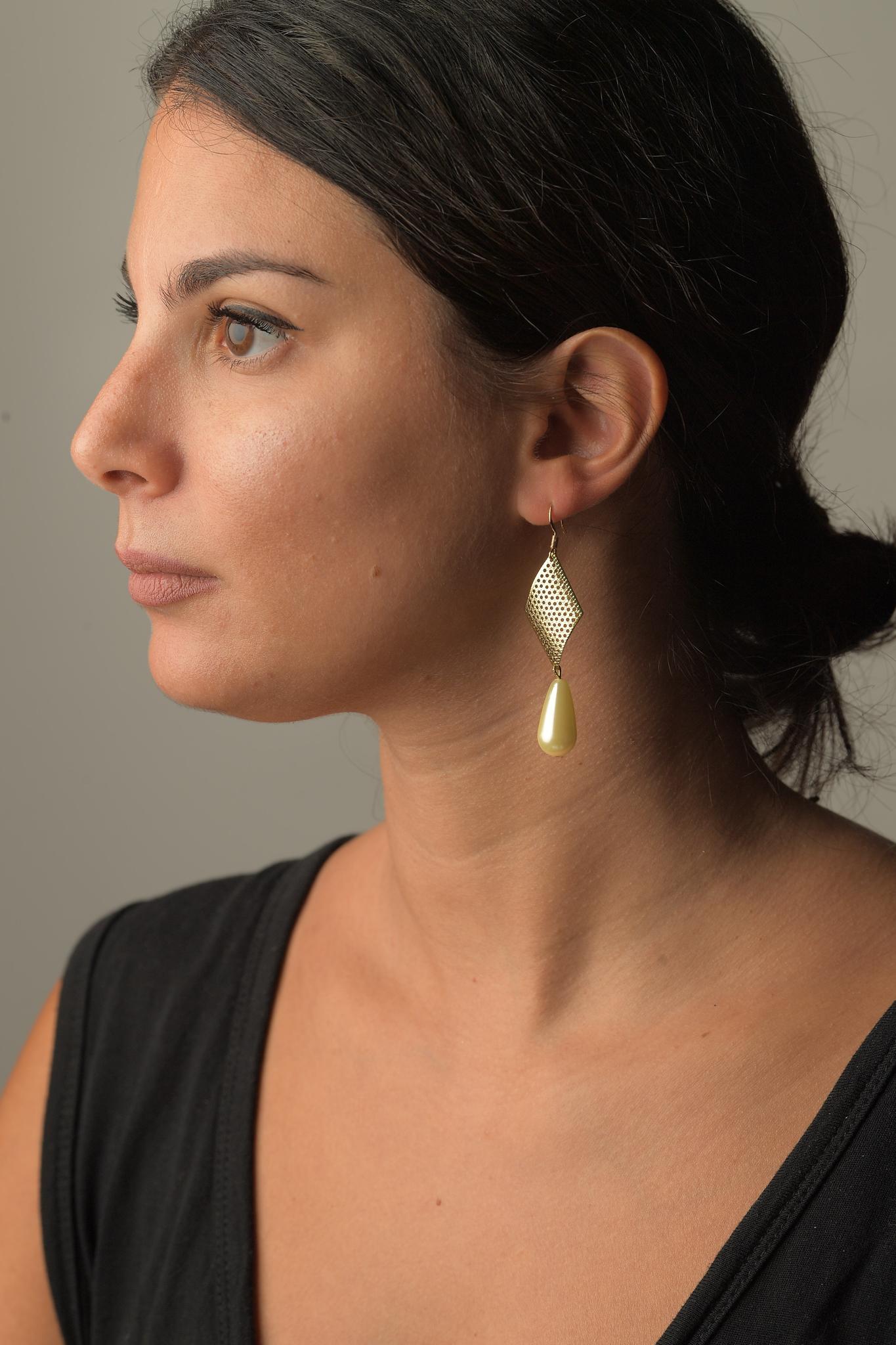 Σκουλαρίκια Σταγόνα Πέρλα