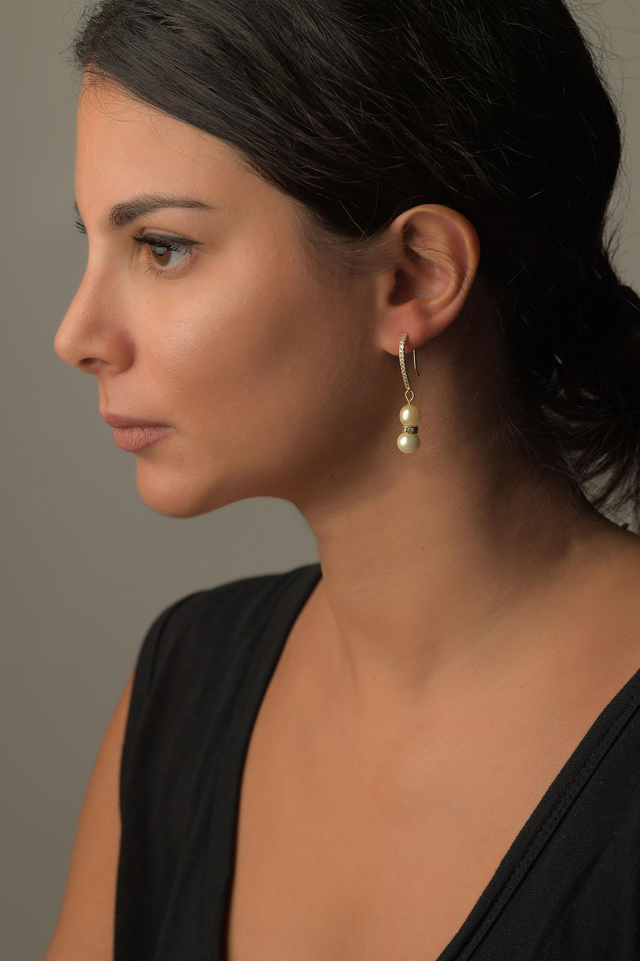 Σκουλαρίκια πέρλες1