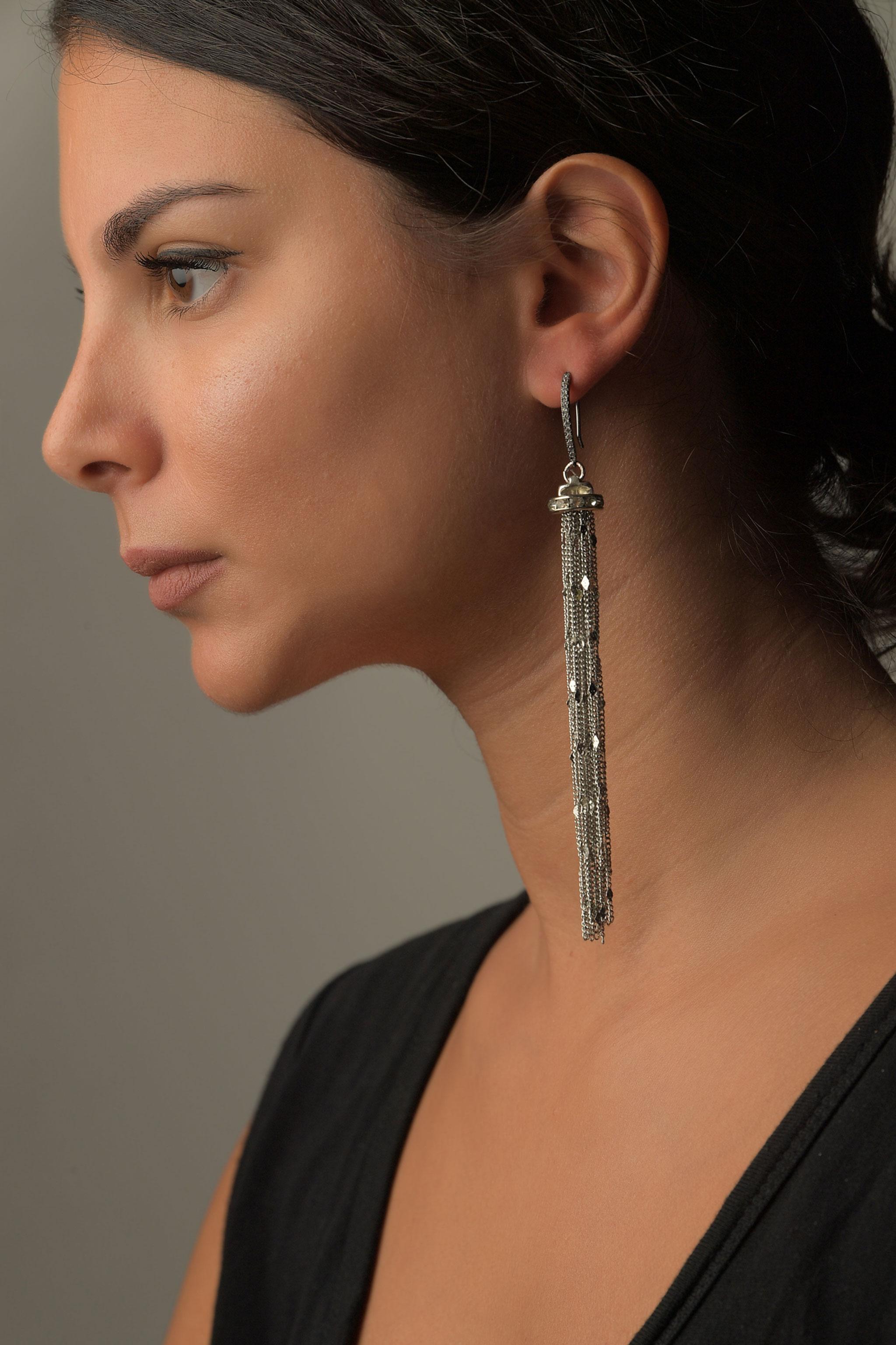 Σκουλαρίκια Aλυσίδα1
