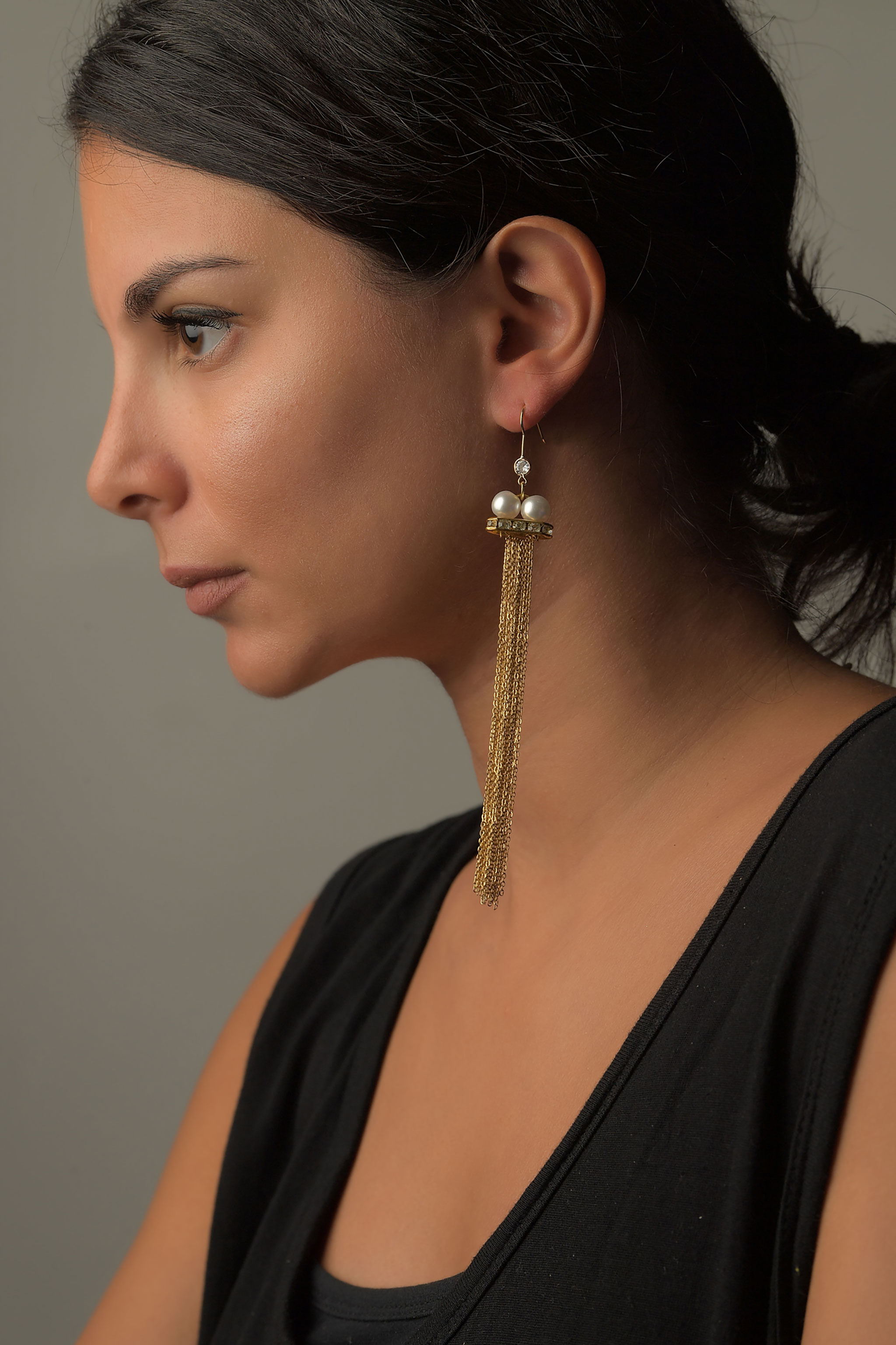 Σκουλαρίκια Αλυσίδα1
