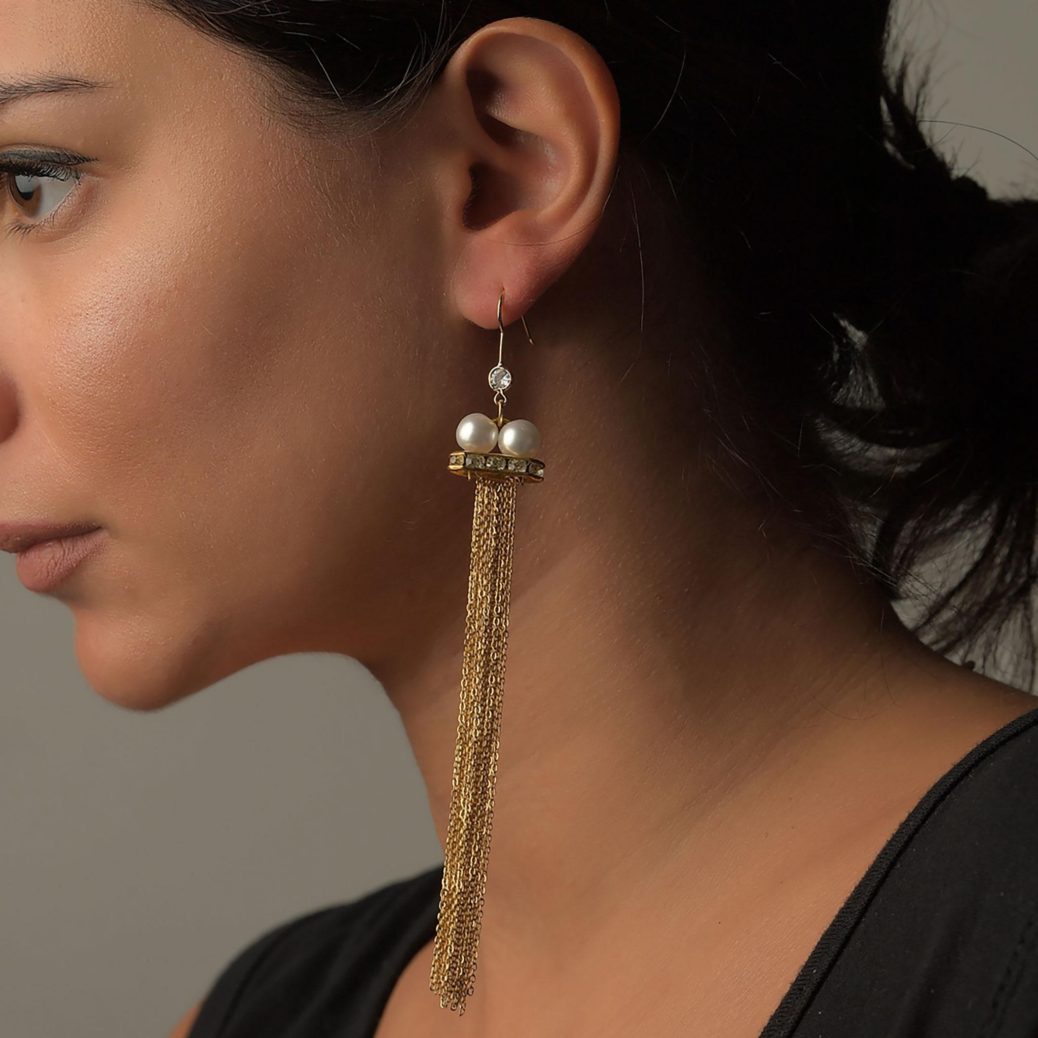 Σκουλαρίκια Αλυσίδα2